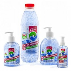 DEZI Hand Cleaner (Gel for dry cleaning of hands)
