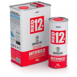 Antifreeze Red 12+ concentrate for engine