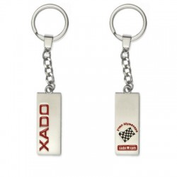 "XADO keychain with logo ""race as I want"""