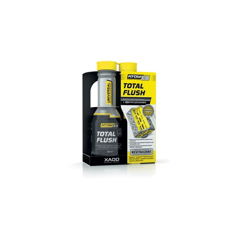 Atomex TotalFlush - oil system cleaner