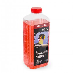 Red Penguin windshield washer -32 ⁰С